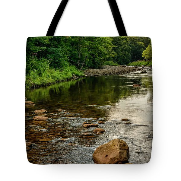 Summer Morning Williams River Tote Bag