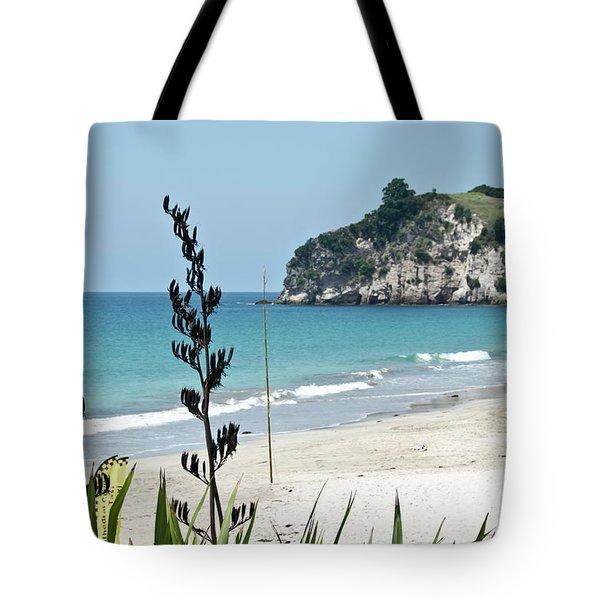 Summer New Zealand Beach Tote Bag