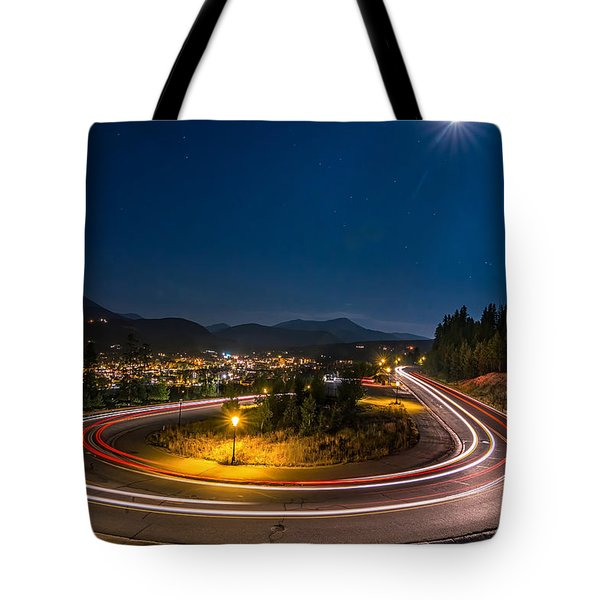 Summer Night Above Breckenridge Tote Bag