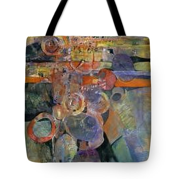 Summer Night City Uneartherd Tote Bag by Marlene Gremillion