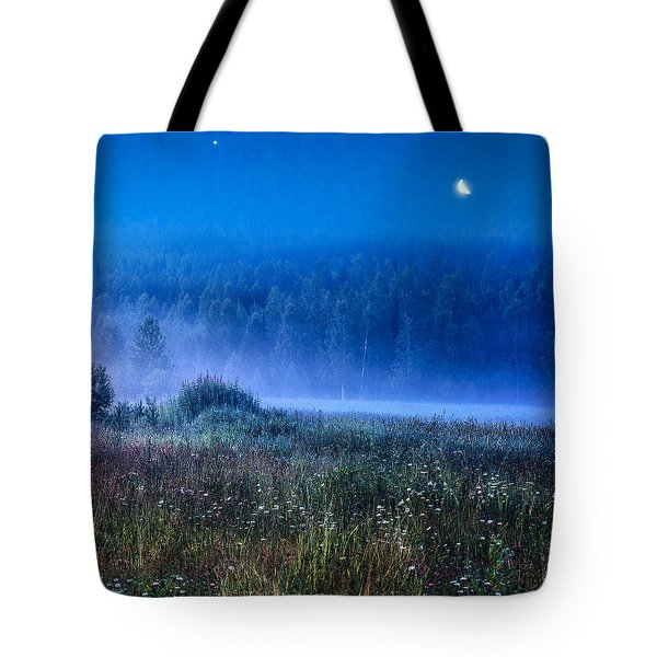 Summer Night Tote Bag