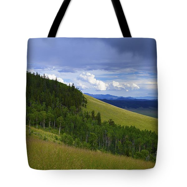 Summer On Kenosha Pass Tote Bag