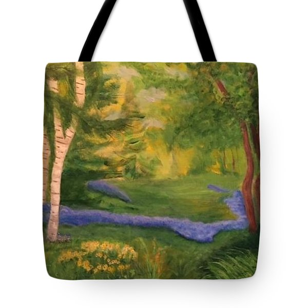 Summer On Orcas Island Tote Bag