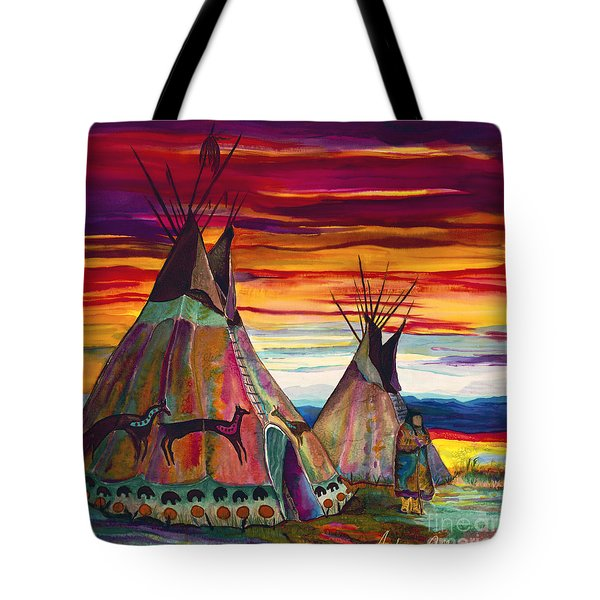 Summer On The Plains Tote Bag by Anderson R Moore