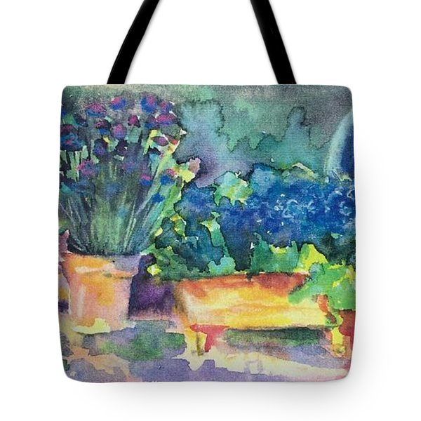 Summer On The Porch Tote Bag