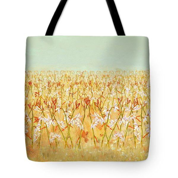Summer Outbreak Tote Bag