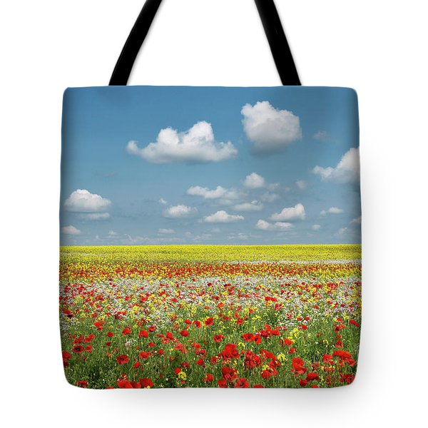 Tote Bag featuring the photograph Summer Palette by Tim Gainey