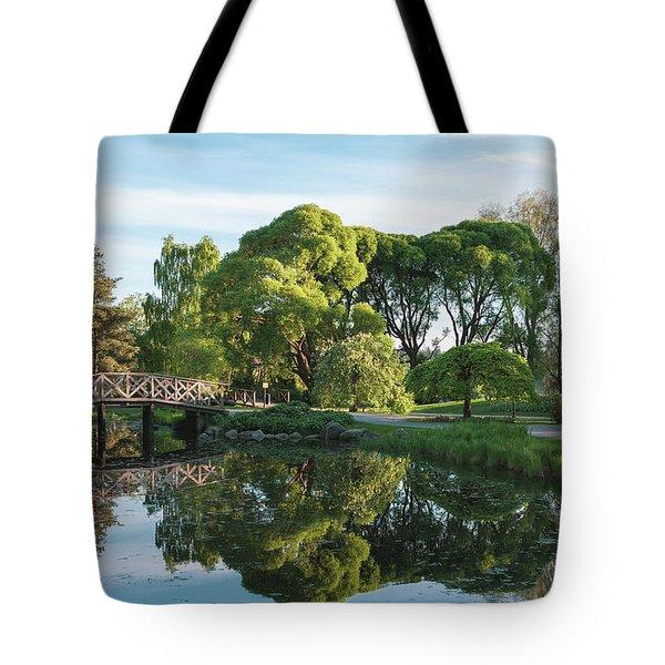 Summer Park Tote Bag