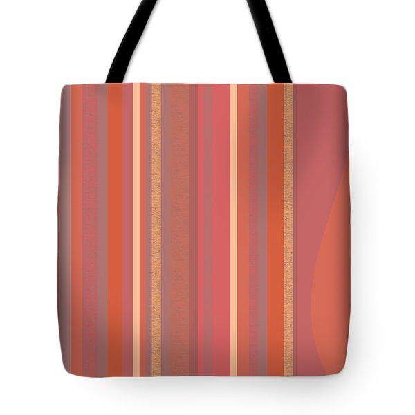 Summer Peach Tote Bag