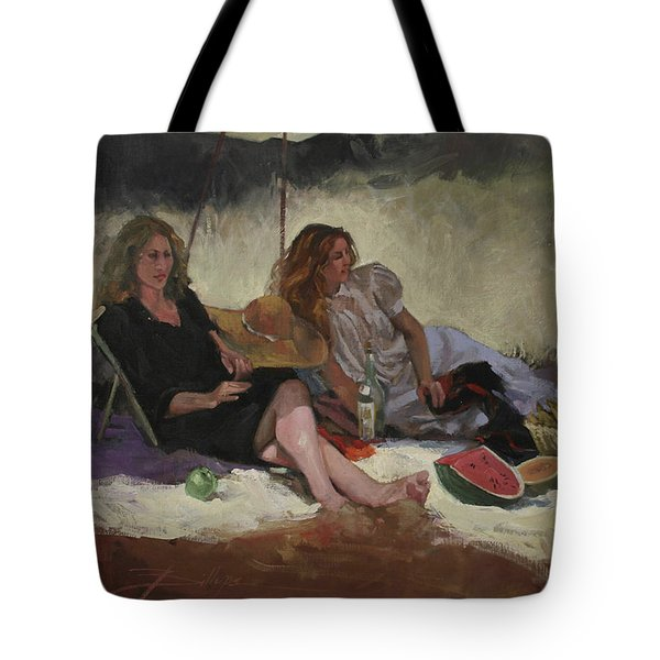 Summer Picnic Tote Bag