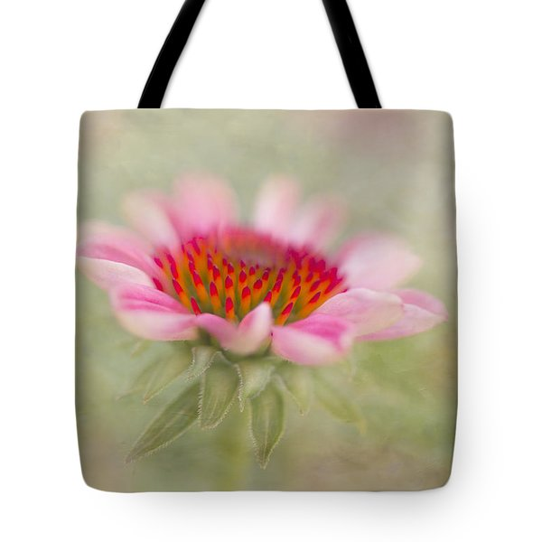 Summer Pink Echinacea Tote Bag