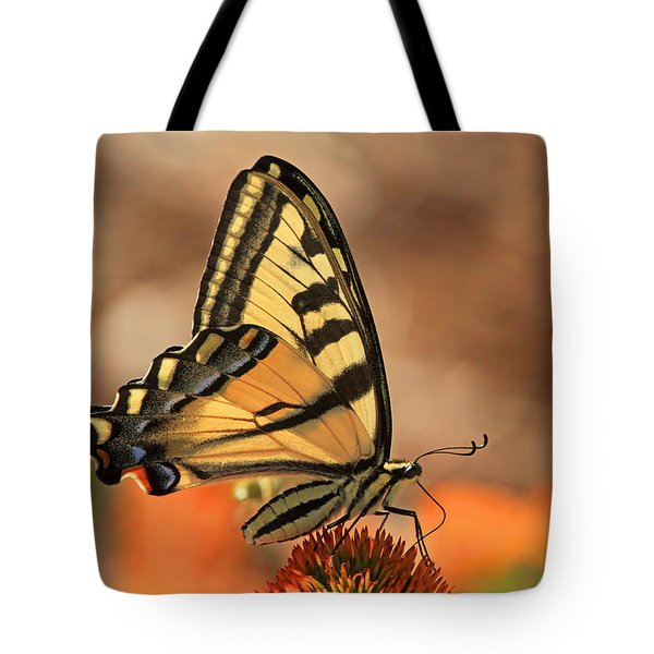Summer Portrait Tote Bag by Donna Kennedy
