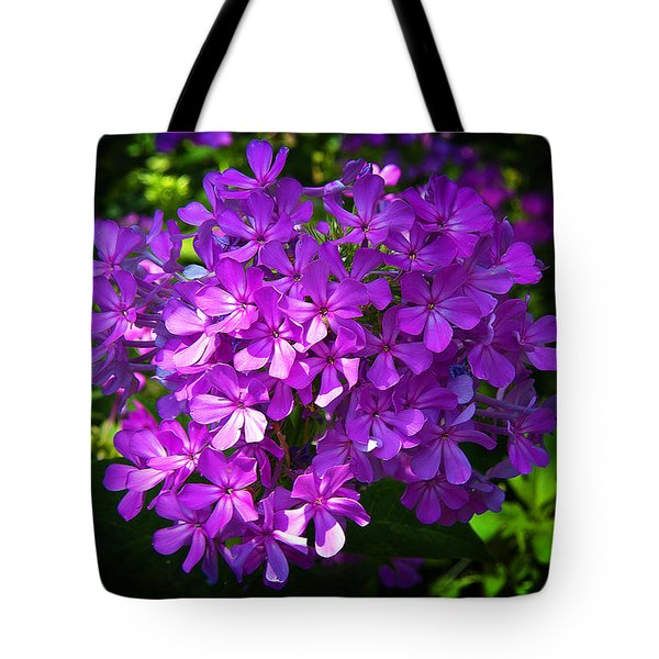 Summer Purple Tote Bag