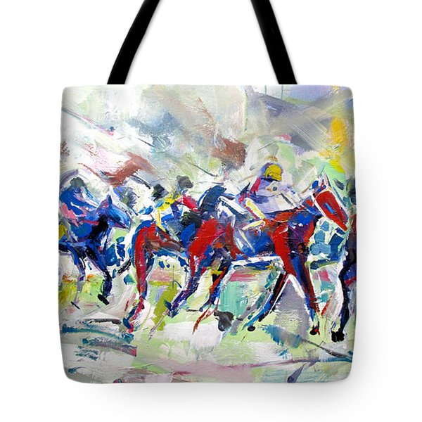 Summer Race Tote Bag