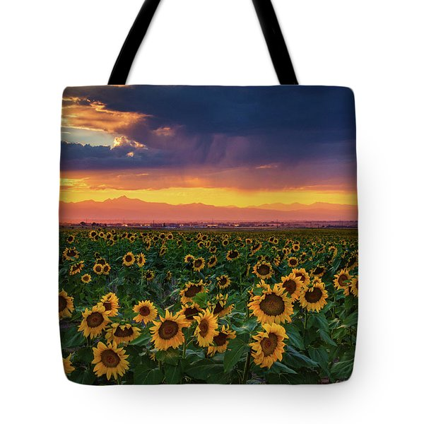 Summer Radiance Tote Bag
