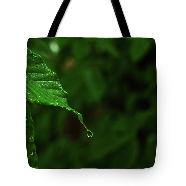 Summer Rain Tote Bag