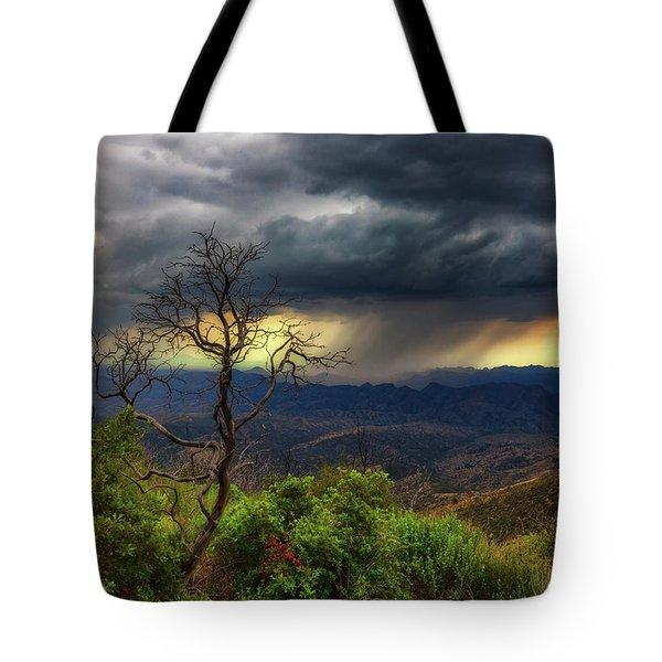 Summer Rains Tote Bag