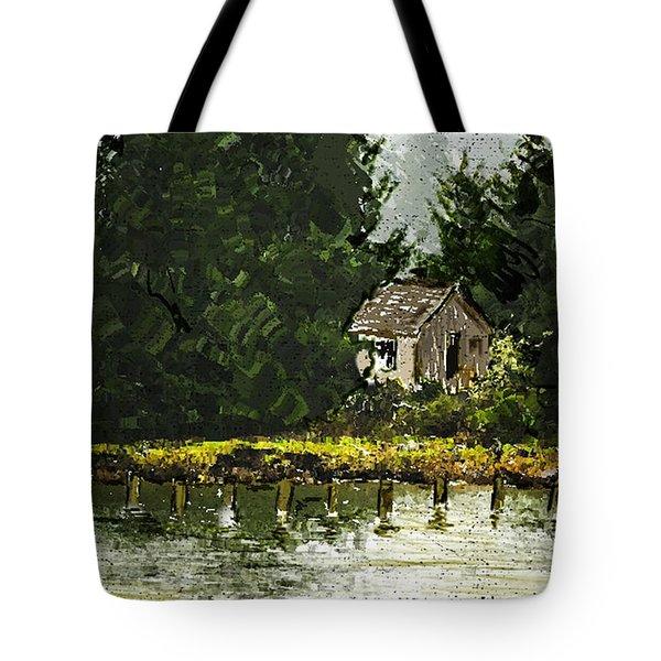 Summer Retreat Tote Bag by Dale Stillman