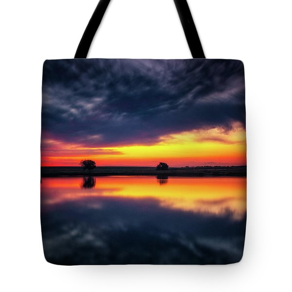 Tote Bag featuring the photograph Summer Rises by John De Bord