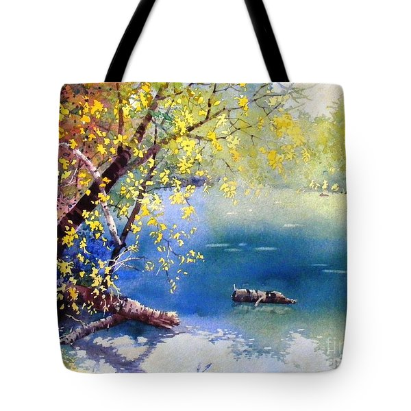 Summer River Tote Bag