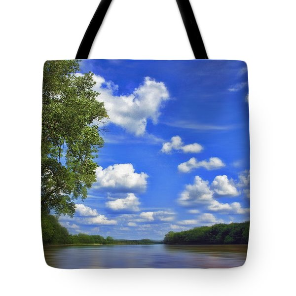 Summer River Glory Tote Bag