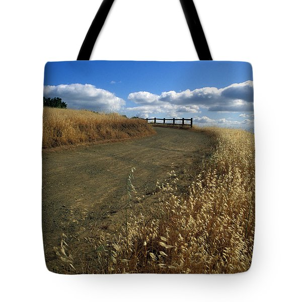 Summer Road Tote Bag by Kathy Yates