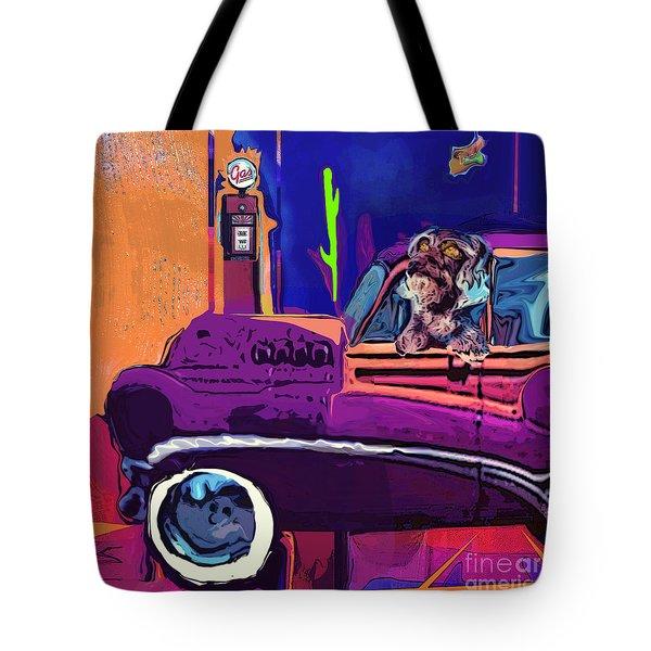 Summer Roadtrips Westward Ho Tote Bag