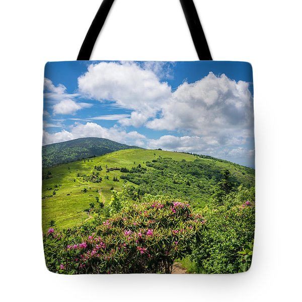 Tote Bag featuring the photograph Summer Roan Mountain Bloom by Serge Skiba