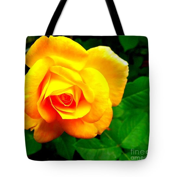 Summer Rose Tote Bag by Garnett Jaeger