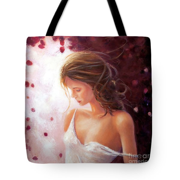 Summer Rose Tote Bag by Michael Rock