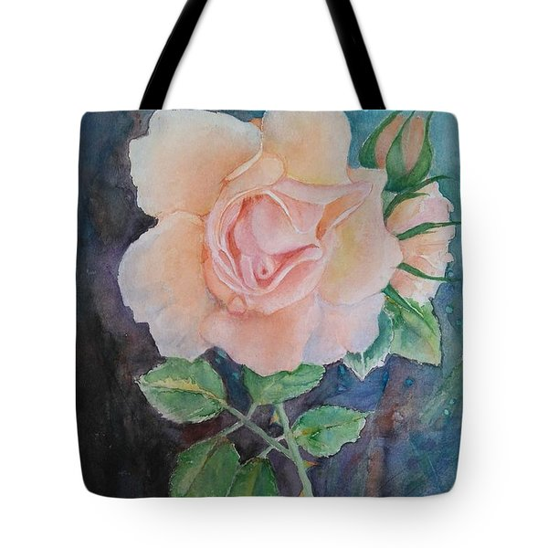 Summer Rose - Painting Tote Bag by Veronica Rickard