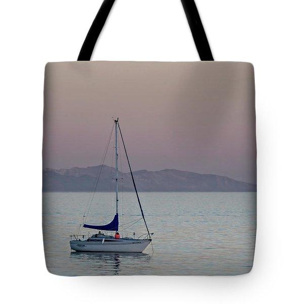 Summer Sailing Tote Bag