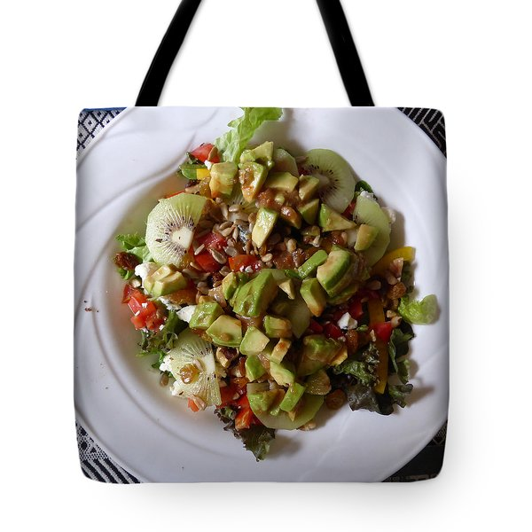 Tote Bag featuring the photograph Summer Salad by Joel Deutsch