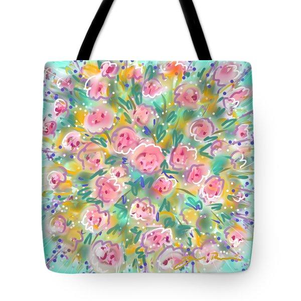 Summer Scarf Tote Bag