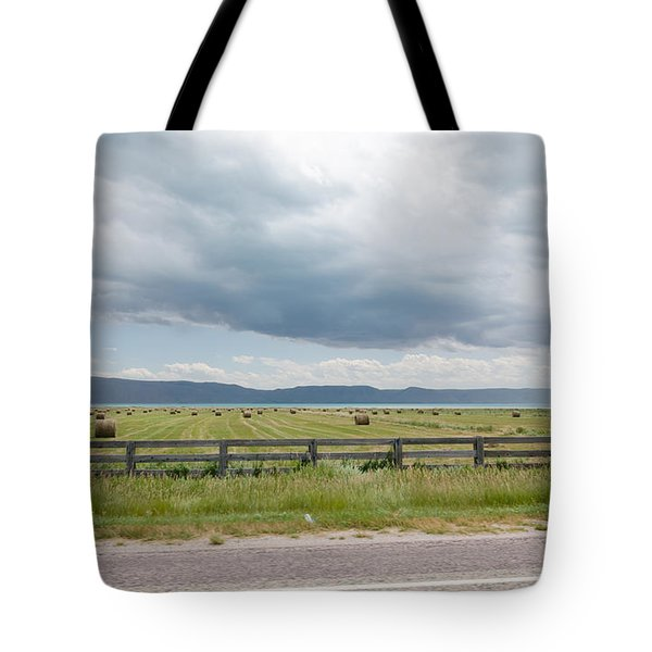 Summer Scene In Northern Utah Tote Bag