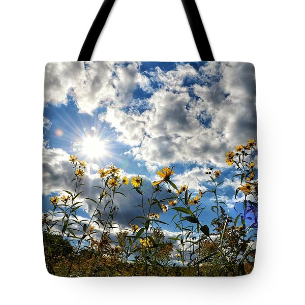Summer Scene Tote Bag