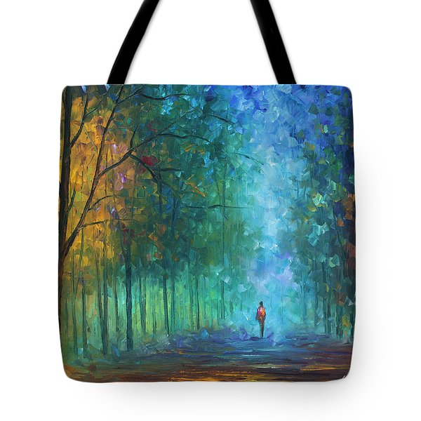 Summer Scent Tote Bag by Leonid Afremov