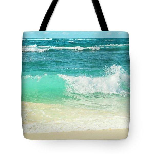 Summer Sea Tote Bag by Sharon Mau