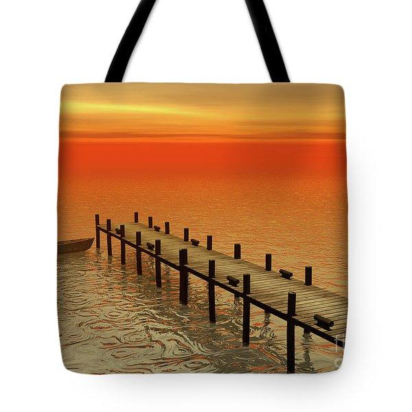 Summer Serenity Tote Bag