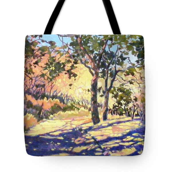 Summer Shadow Tote Bag