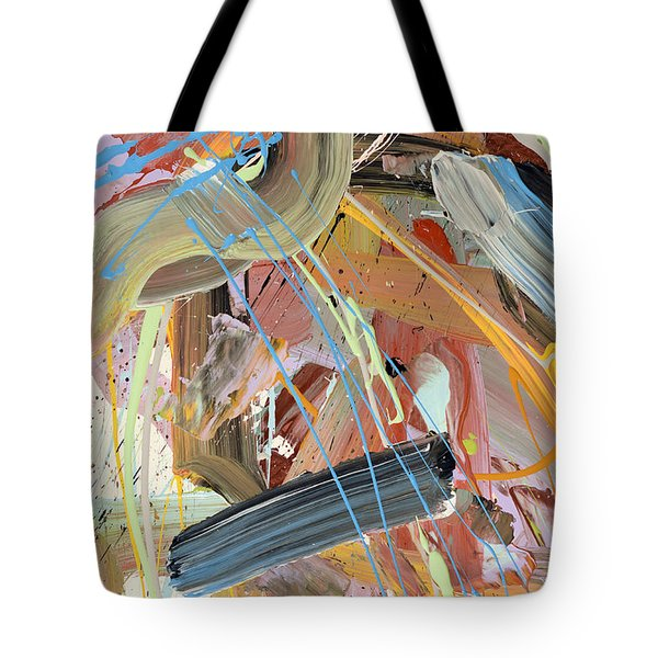 Summer Showers Abstract Tote Bag