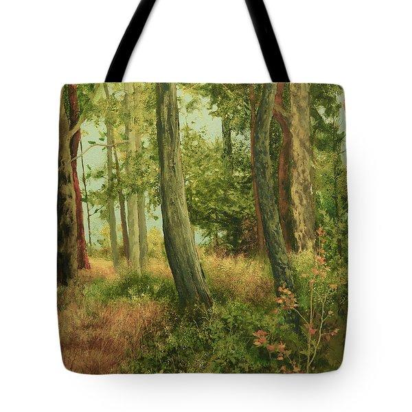 Summer, Sidney Spit Tote Bag