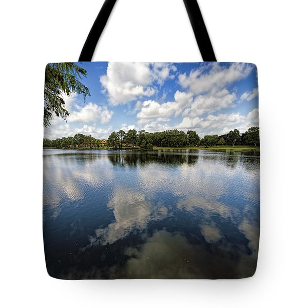 Summer Skies Tote Bag
