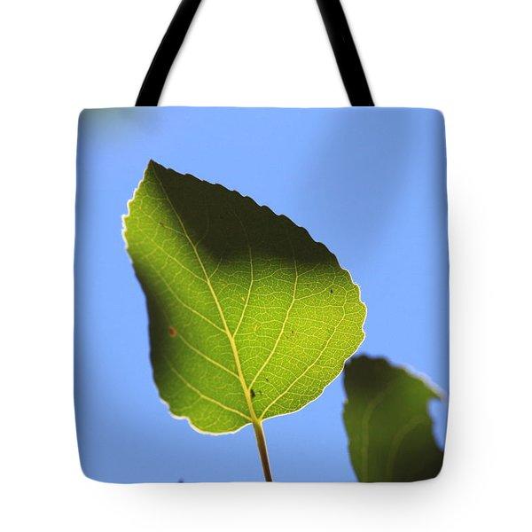 Summer Sky Aspen Tote Bag