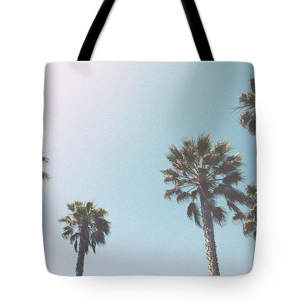 Summer Sky- By Linda Woods Tote Bag