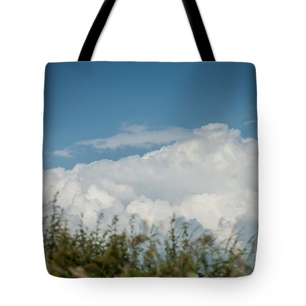 Tote Bag featuring the photograph Summer Sky by Jan Bickerton