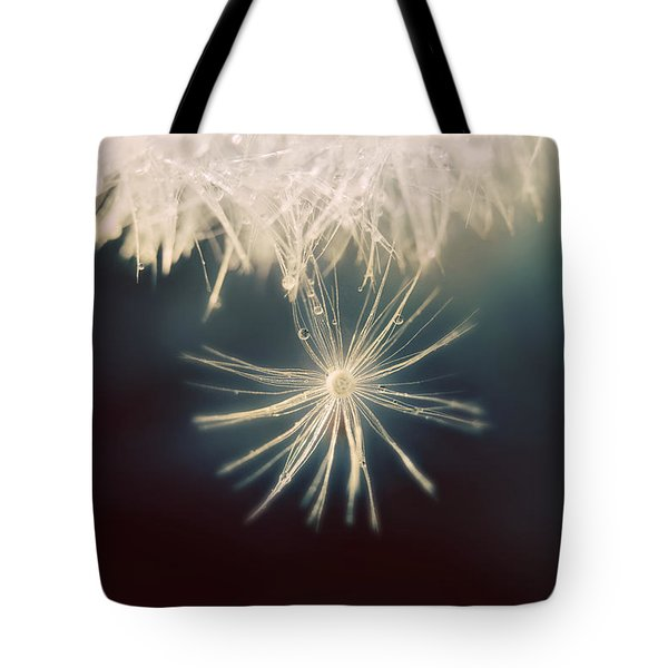 Tote Bag featuring the photograph Summer Snow by Amy Tyler