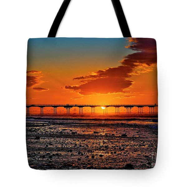 Summer Solstice Sunset Tote Bag