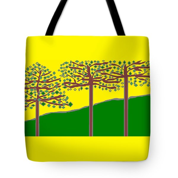 Summer Stained Glass 2 Tote Bag by Linda Velasquez
