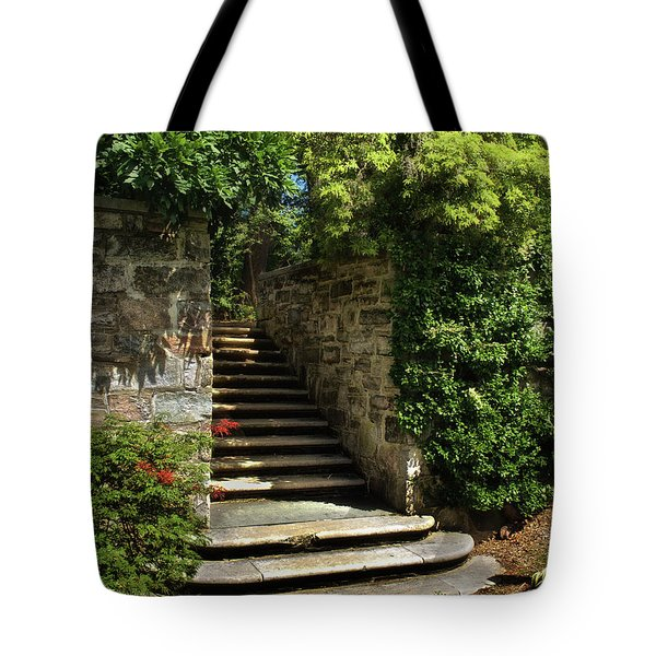 Tote Bag featuring the photograph Summer Steps by Mark Miller